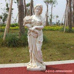公园人物石雕