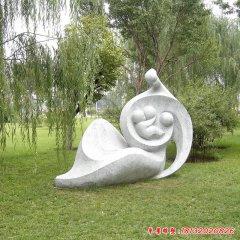 哺乳抽象人物石雕