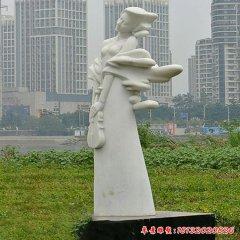 城市人物石雕