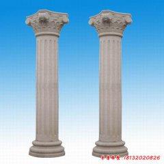 城市罗马柱石雕