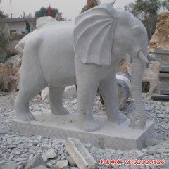 公園動物大象石雕