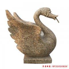 公園天鵝動物石雕