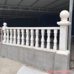 小区栏杆石雕