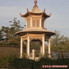 景区建筑凉亭石雕