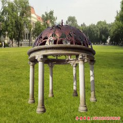 建筑景观凉亭石雕