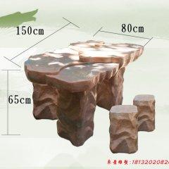 別墅簡約風格石桌凳