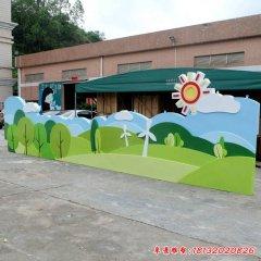 幼兒園玻璃鋼卡通壁畫浮雕