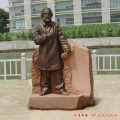 校園馬克思銅雕