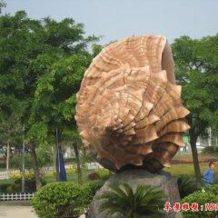 公園景觀石雕海螺