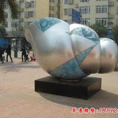 城市街邊大型海螺雕塑