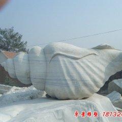 海邊海螺石雕