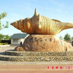 公園砂巖海螺石雕