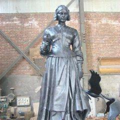 西方名人南丁格爾銅雕
