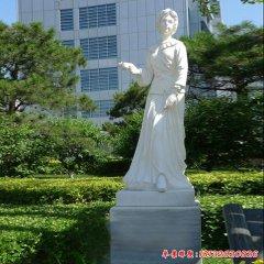 漢白玉人物南丁格爾石雕