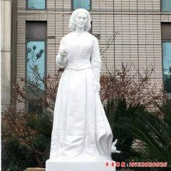 漢白玉南丁格爾石雕