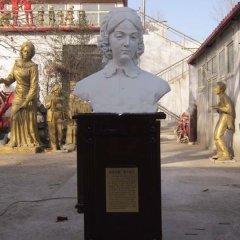 漢白玉南丁格爾半身像雕塑