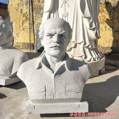花岗岩白求恩胸像石雕