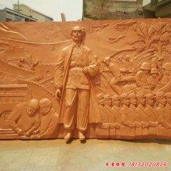 医学名人白求恩石浮雕