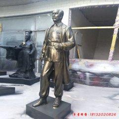 医院立式白求恩铜雕像