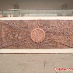 校园壁画铜浮雕