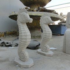 园林海马喷泉石雕