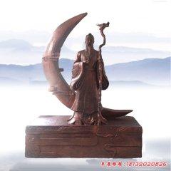 景區月老銅雕