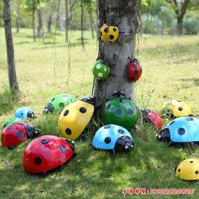 七星瓢蟲雕塑